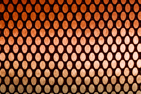 mesh: abstract metal grid background and texture with filter effect Stock Photo