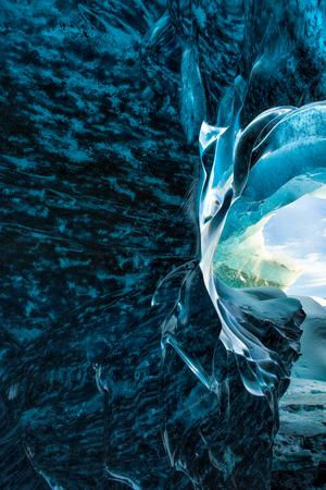 ice cave, vatnajokull national park, Iceland