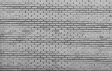Grey Square brick block wall background and texture