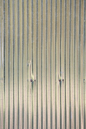 zinc sheet wall or corrugated wall pattern texture and background