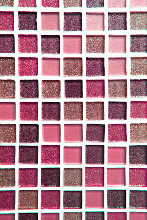 abstract pink square pixel mosaic wall background and texture 免版税图像 - 112335924