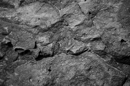 Dark grey stone or rock on floor use as background and texture Stock fotó