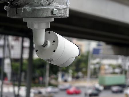 CCTV Camera on Road