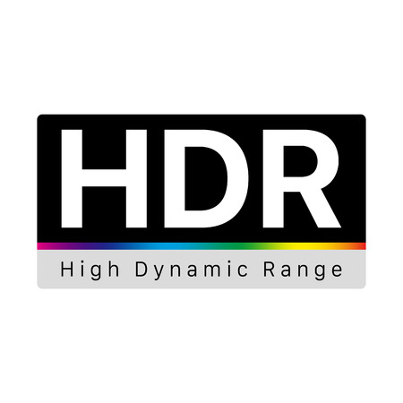 HDR - High Dynamic Range Symbol Banque d'images - 111394520