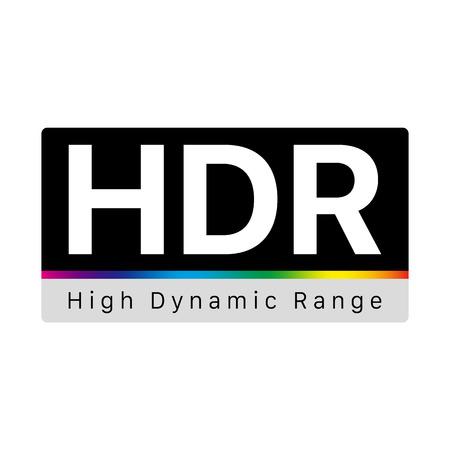 HDR - High Dynamic Range Symbol