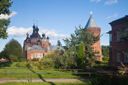 kazan: Shamordino. Kazan Amvrosiyevskaya female monastery. Kazan Cathedral.