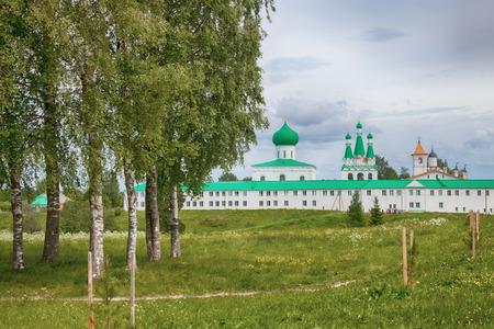 mans: Male Holy Trinity Alexander Svirsky the mans monastery on the Roshchinsky lake