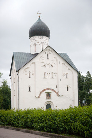 14th century: Veliky Novgorod. Russian Federation. Church of the Transfiguration of Our Savior of the 14th century.