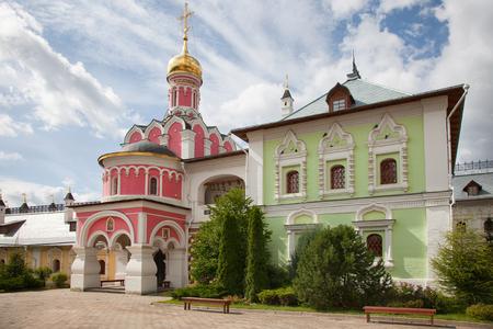 The Church of the Annunciation of the Blessed Virgin in Pavlovskaya Sloboda