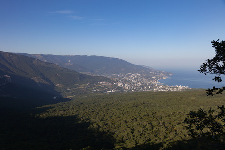 View of Yalta. Crimea