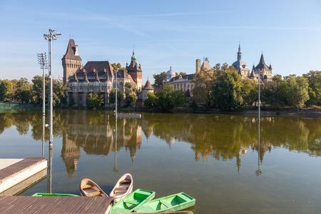Budapest. Hungary. Vaydakhunyad.