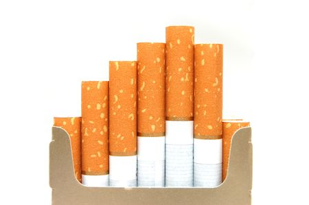 pack of cigarettes, close-up photo