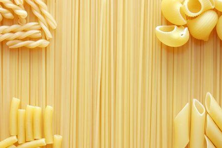 Detail von Makkaroni Pasta n�tzlich als Hintergrund