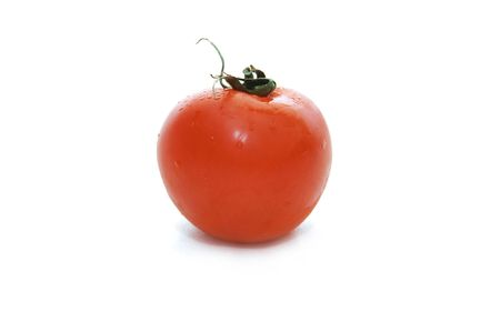 ailment: Petite tomate on a white isolated background