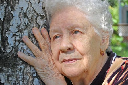 Portrait of the old woman  Stock Photo - 4976816
