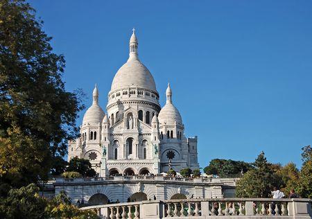 coeur: Sacre Coeur kathedraal in Parijs