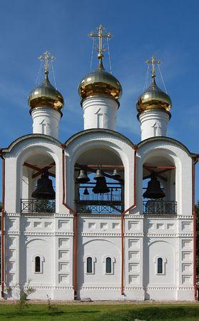 Nikolsky monastery in Pereslavl, Russia, Yaroslavl region photo