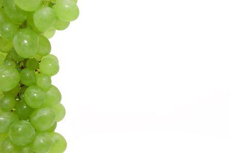 nutriments: Parte de un marco de uva Foto de archivo