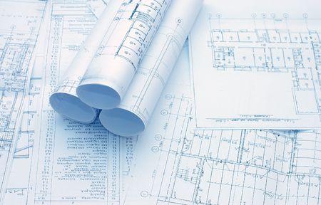 Rollen von Engineering-Zeichnungen