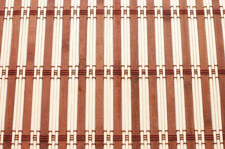 Closeup of bamboo mat background  Stock Photo - 5730544