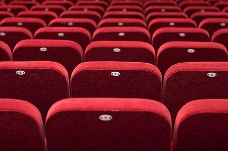 empty theatre auditorium cinema or conference hall Stock Photo - 6578357