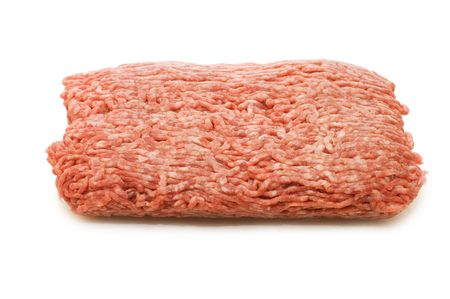 forcemeat:  Forcemeat  isolated on white background