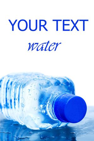 Water bottle isolated on the white background Stock Photo - 6818297