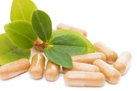 Gr�n spriessen von Pillen