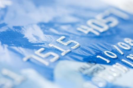 macro shoot of a credit card Stock Photo - 7562756