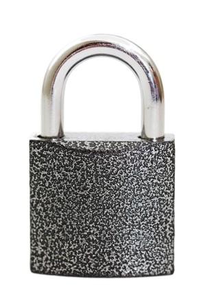 lock isolated on white background  Stock Photo - 7884627