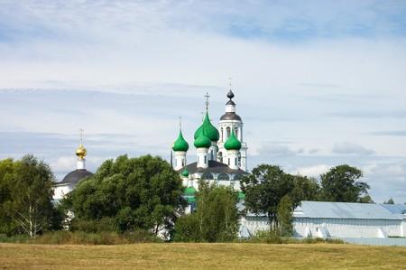 fourteenth: Fourteenth century monastery in Yaroslavl, Russia