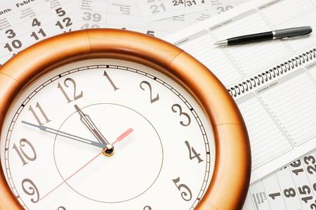 composite: Composite of Calendar and Clock