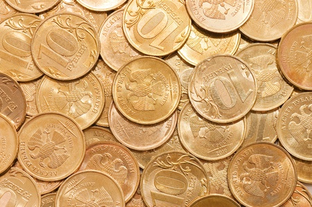 coins macro close up background  photo