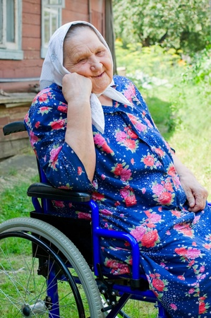 Portrait of the old woman  Stock Photo - 8430927