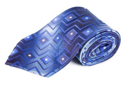 Luxury tie on white background Stock Photo - 8834734