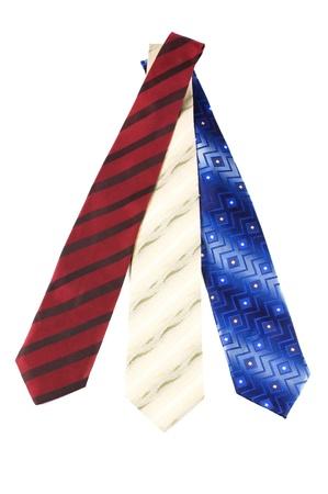 Luxury tie on white background Stock Photo - 8834919