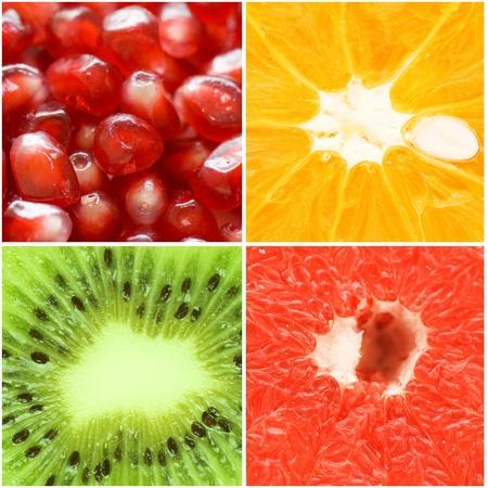 toronja: Varios primeros planos de fruta