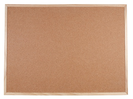 Blank corkboard with a wooden frame Stock Photo - 9412921