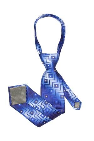 Luxury tie on white background Stock Photo - 9457345