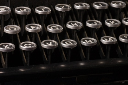 Old typewriter, deadline text as a background Stock Photo - 9921702