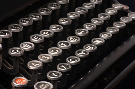 Old typewriter, deadline text as a background Stock Photo - 10036486