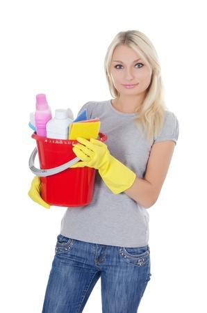El retrato de la muchacha - Concepto de limpieza
