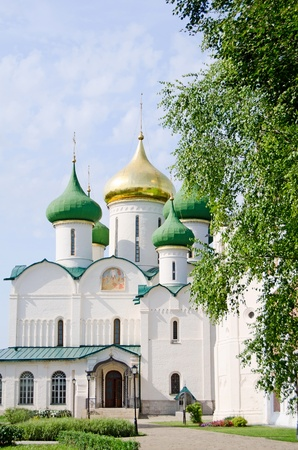 Church in Suzdal. Gold ring of Russia photo