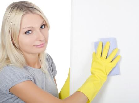 manos limpias: El retrato de ni�a - concepto limpieza
