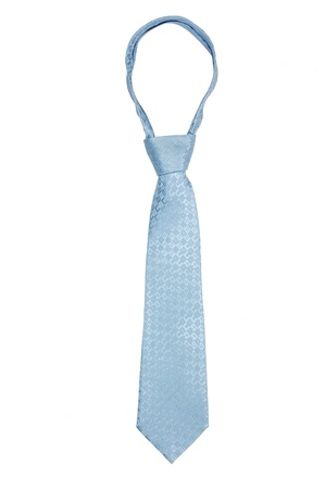 Luxury mans tie isolated on white background photo