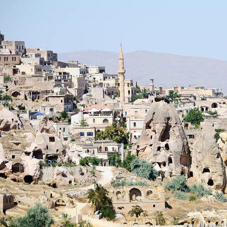 goreme: the speciel stone formation of cappadocia turkey