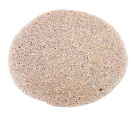 One the stones isolated on white background Stock Photo - 11547913