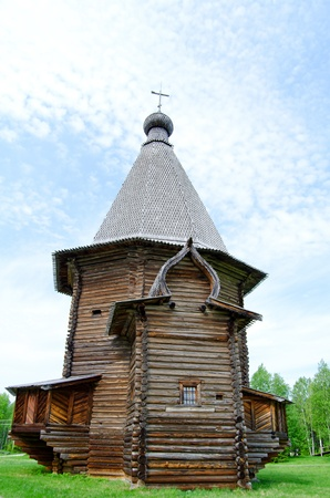 Wooden churches in the north Russia. Arkhangelsk