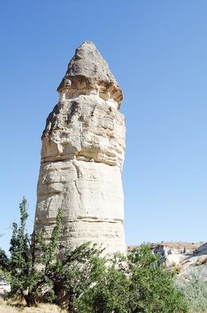 rock formation: the speciel stone formation of cappadocia turkey