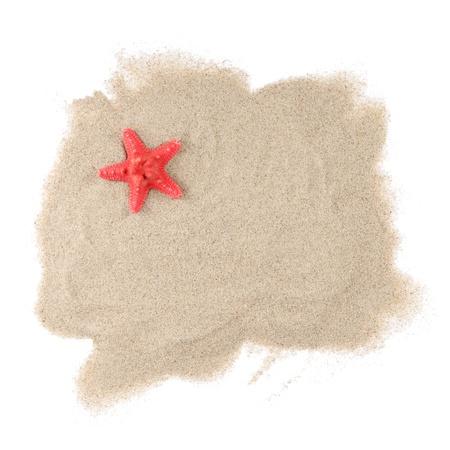 stella marina: La Starfish mare isolato su sfondo bianco